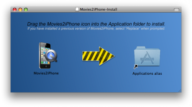 movies2iphone mac os x