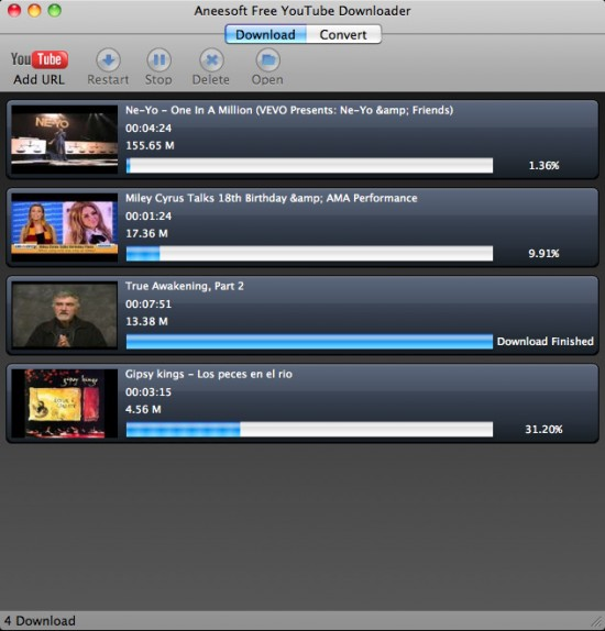 Software gratis per scaricare video da youtube con un mac for Free programmi