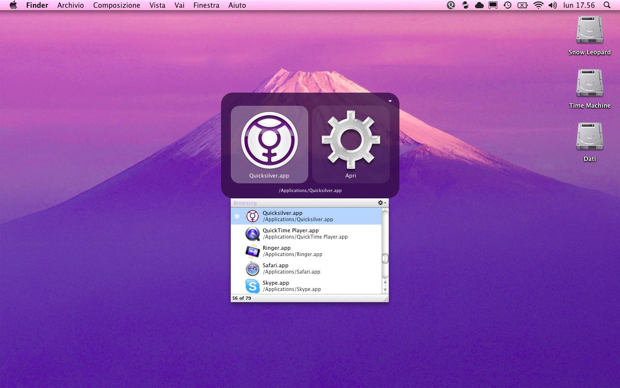 quicksilver mac - SlideToMac