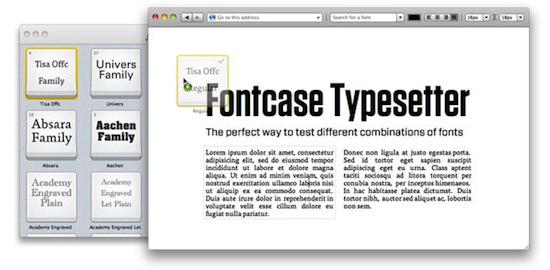 Fontcase 2 0: tool per la gestione di una libreria di font