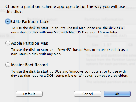 disk-utility-guid-partition-scheme-screenshot - SlideToMac