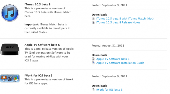 itunes+beta+8+iwork+beta+3+mac - SlideToMac