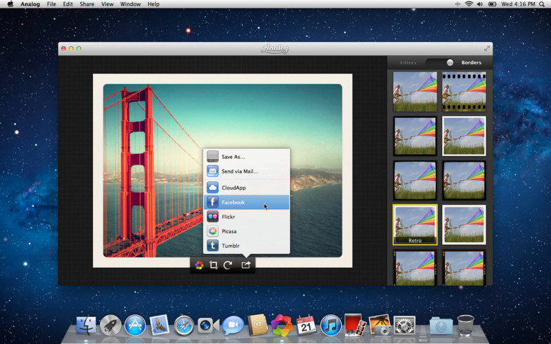 programmi per cornici foto mac