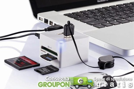 Cubo multiconnessione per Mac in offerta a 24,90€ - SlideToMac