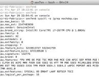 Come scoprire tutti dettagli della CPU via Terminale – Guida SlideToMac