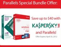 Parallels Desktop 7 regala Kasperky Antivirus ma solo fino al 30 aprile!