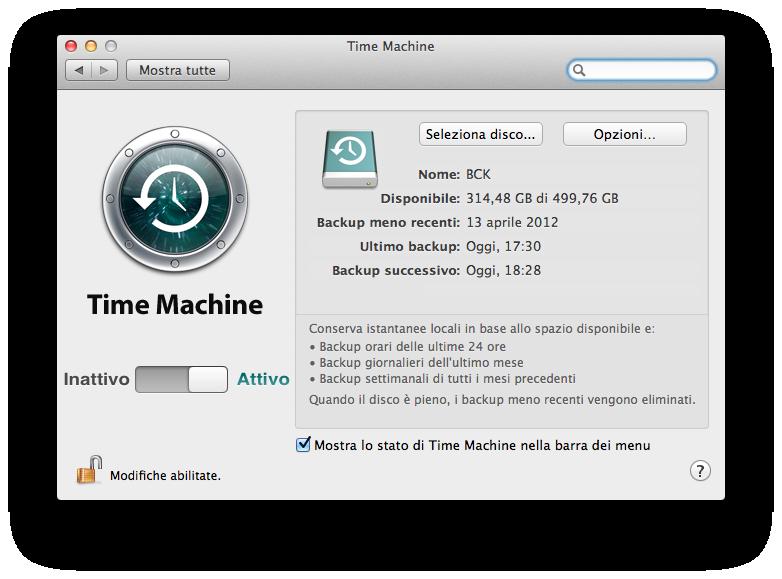 How to time machine backup on mac