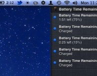 Come ripristinare la notifica sull'autonomia restante in Mountain Lion – Guida SlideToMac
