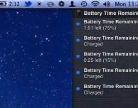 Come ripristinare la notifica sull'autonomia restante in Mountain Lion – Guida SlideToMac