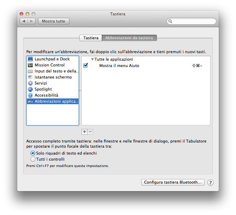 Abbreviazioni Da Tastiera Mancanti Vediamo Come Aggiungerle In OS X