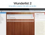 Nuovo update per Wunderlist
