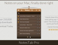 NotesTab Pro: note su Mac e sincronizzazione con iPhone e iPad