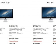 iMac: tutti i modelli in spedizione entro 24 ore
