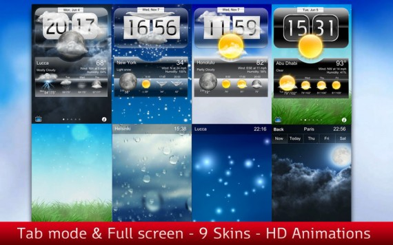 Weather Tab Pro Mac pic1