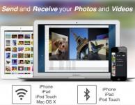 Con transfr puoi trasferire file da iPhone e iPad a Mac usando il Wi-Fi