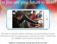 WWDC 2013: Apple riserva 150 borse di studio agli studenti