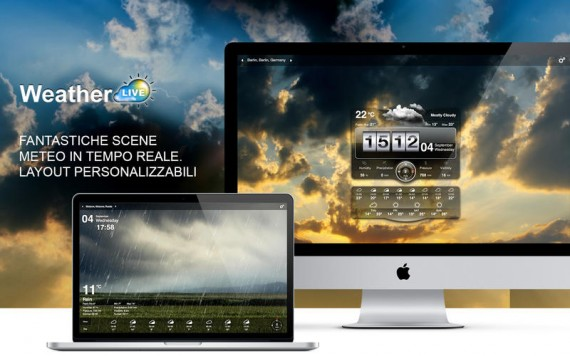 Meteo Live Mac pic1