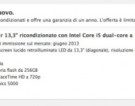 MacBook Pro e MacBook Air ricondizionati in offerta su Apple Store