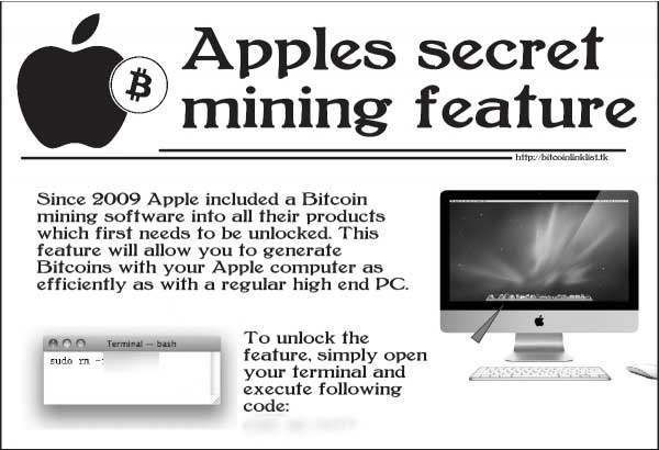 bitcoin è uno scherzo