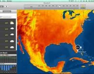 MeteoEarth: il meteo sempre a portata di clic sul tuo Mac