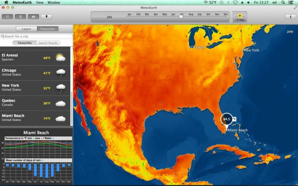 MeteoEarth Mac pic0