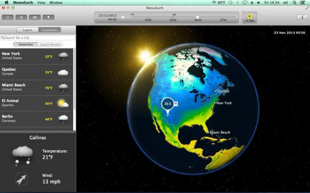 MeteoEarth Mac pic1