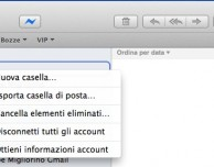 Come correggere i problemi di Mail su Mavericks