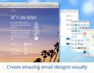 Mail Designer 2: modelli email pre-compilati per inviti, eventi o newsletter