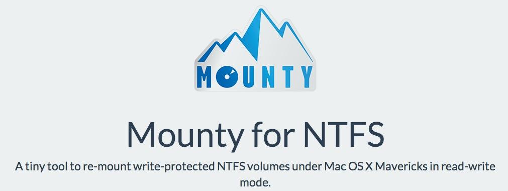 mounty pour mac