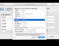 OS X Yosemite parlerà in napoletano e in siciliano