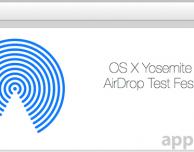 """Apple annuncia il """"test fest"""" di AirDrop versione Yosemite"""