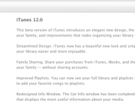 Apple aggiorna iTunes 12 beta