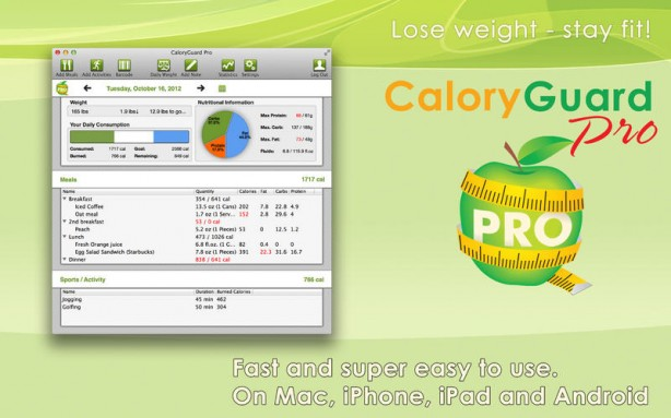 CaloryGuard Pro Mac pic0
