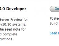Apple rilascia OS X Server 4.0 beta per sviluppatori