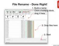 Perfect Rename: il programma perfetto per rinominare e catalogare tutti i file del vostro Mac