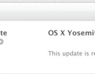 OS X Yosemite: disponibile la GM Candidate 3 per sviluppatori