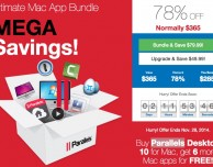 Ultimate Mac App Bundle: Parallels, 1Password, CleanMyMac 2 e altri software a soli $ 49,99