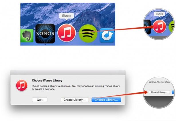 Come creare ed utilizzare librerie multiple con itunes slidetomac - Creare finestra popup ...