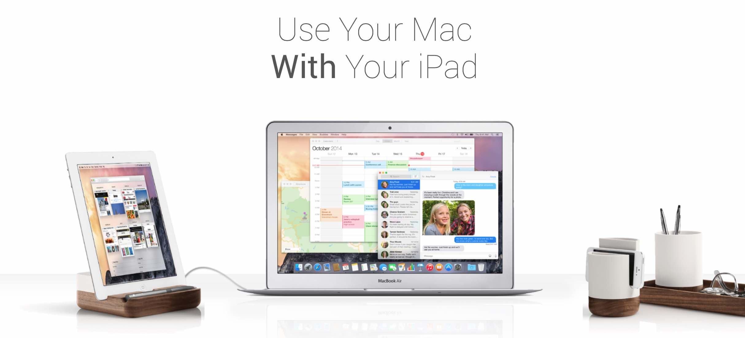 Schermo secondario per Mac  Arriva Duet e l iPad si trasforma in uno ... d36717d4e5e9