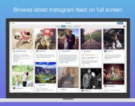 Pixfeed for Instagram ci permette di vedere le foto di Instagram su Mac