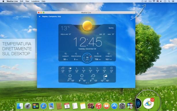 Meteo Live Mac pic0