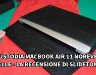Custodia in pelle per MacBook Air 11″ di Noreve – La recensione di SlideToMac