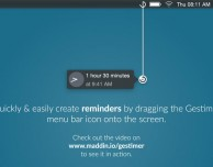 Gestimer: per salvare in modo rapido i promemoria su Mac
