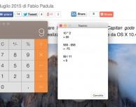 Come visualizzare il nastro della calcolatrice di OS X, salvarlo e stamparlo – Guida