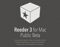 Reeder 3 per Mac ora disponibile come beta pubblica