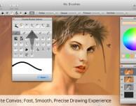 Creare opere d'arte su Mac con MyBrushes, ora a soli 0,99 Euro