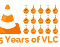 15 anni di VLC e aggiornamento alla versione 2.2.2