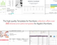 Templates for Numbers: oltre 300 modelli a soli 0,99 Euro
