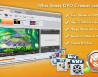 Smart DVD Creator: masterizzare DVD e creazione file ISO per dischi virtuali, ora in offerta