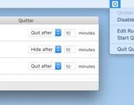 Quitter, il tool che chiude automaticamente le app che ti fanno perdere tempo